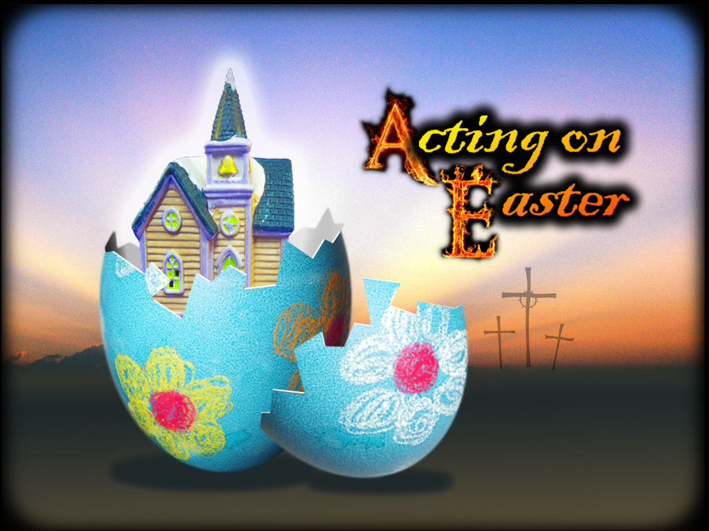 1 ActOnEaster_egg by John Greenwald